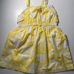 (3 for $15) NWT Cherokee Yellow 2T Dress